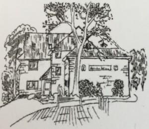 Schützenhaus Zeichnung
