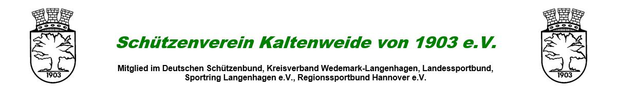 Schützenverein Kaltenweide von 1903 e.V.
